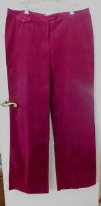 Pendleton Fine Wale Corduroy Wide Leg Pants Women's Size 20 Tall