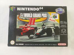 F1 World Grand Prix II PAL Nintendo 64 N64