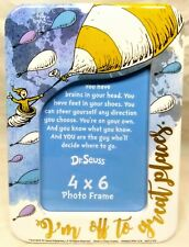 Dr. Seuss 4x6 Picture Frame Oh The Places You'll Go Graduation Travel Vacation