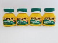 Bayer Aspirin Regimen 81mg Low Dose Safety Coated 120 Tablets (4 Pack) 01/20+