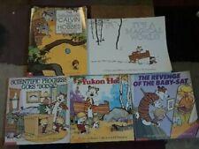 5 Calvin and Hobbes books