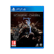 Juego Sony PS4 la tierra media sombras de Guerra