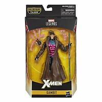 "Marvel Legends Series 6"" X-Men Collectible Gambit Action Figure With Caliban BAF"