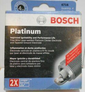 Spark Plug-OE Fine Wire Platinum Bosch 6716