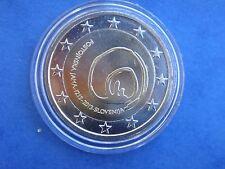 """♣ Pièce 2 euros commémo  SLOVENIE 2013  """" GROTTE DE POSTOJNA  """"  sous capsule"""