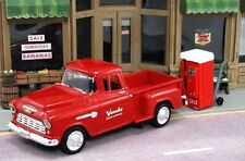 1/43 1955 Chevrolet Pickup   Vendo Sales & Service with Hand Cart & Cola Machine