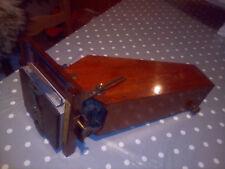 Vintage Adam Hilger Spectroscope mahogany camera.Scientific instrument.