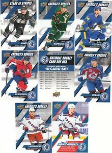 20/21 2020/21 2021 Upper Deck National Hockey Card Day USA 17 Card Set
