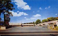 Winchester Virginia 1960s Postcard Elms Motel & Dining Room