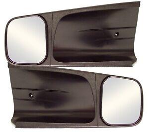CIPA Mirrors 10200 Custom Towing Mirror Set