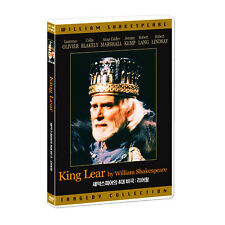 King Lear (1983) - Laurence Olivier DVD *NEW