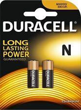 *2 x Duracell LR1 N 1.5V MN9100 Duralock Technology Alkaline Batteries E90/LR1*1