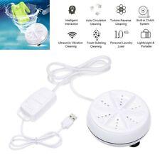 Portable Adjustable Ultrasonic Turbine Washing Machine Bucket Shape Washer