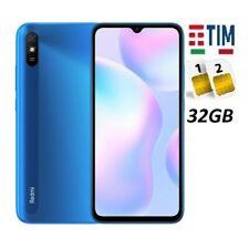 XIAOMI REDMI 9AT DUAL SIM 32GB BLUE GARANZIA ITALIA BRAND TIM