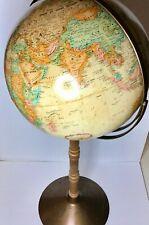 """New ListingReplogle World Classic Series 16"""" Diameter Globe Metal Wood Floor Stand 38"""" Tall"""