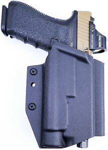 Skullhead Arms OWB Holster fits: Glock 19 19X 17 22 23 45 34 35 TLR1 HL