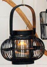 Bougeoirs et photophores de décoration intérieure de la maison lanternes en bois