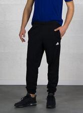Adidas Ess T Pant SJ Pantaloni Fitness Uomo Nero/bianco M (1s3)