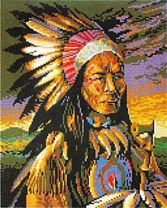 Mini Stecksystem Indianer ca. 9.000 Teile mit XXL-Steckvorlage Nr. 41203