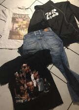 LOT GARCON 12 ANS JEAN PEPE JEANS  VESTE AIRNESS  HAUT RITCHIE  THE ROXX JACKASS