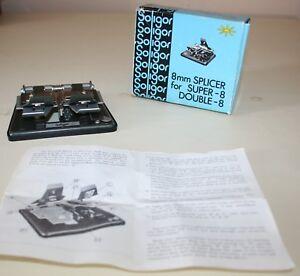 Soligor Universal Film Splicer For Super 8, Regular 8, and 16mm Films
