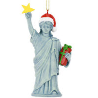 Tree Buddees Xmas Liberty Christmas Statue of Liberty Figurine Ornament Freedom