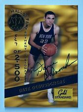 DAVE DEBUSSCHERE 1994 SIGNATURE ROOKIES GOLD STANDARD HALL OF FAME AUTOGRAPH