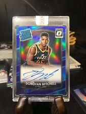 Donovan Mitchell Optic Rated Rookie Blue /49 Auto,Signed, Autographed Rare. Jazz