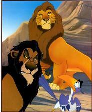 Lion King: Mufasa/Scar/Zazu- Bookplate Illustration Art Print