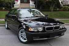 2000 BMW 740IL (BLACK) POSTER 24 X 36 INCH Looks GREAT!