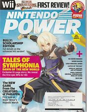 MARCH 2008  NINTENDO POWER video game magazine TALES OF SYMPHONIA