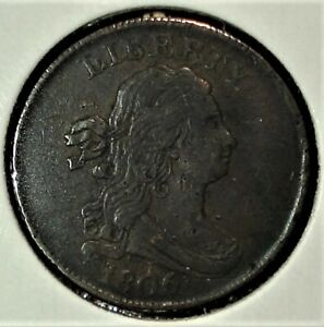 1806 Half Cent with Nice Detail