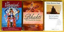 3 x Esoterik Paket Sammlung - Weltreligion Islam Juden Buddhismus Hindu Bhakti
