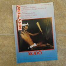 Rhythm Magazine December1985 Roger Odell, Barriemore Barlow, KODO, Gary Ferguson