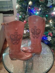 Frye Riding Zip Back Boots
