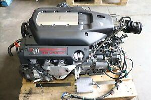 2002-2003 ACURA TL 3.2L TYPE S J32A2 Engine & Automatic Transmission Harness ECU