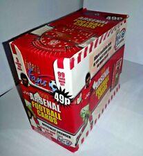 Arsenal FC Football trading cards 1999 Futera Unopened box of 48 packs