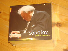 GRIGORY SOKOLOV Complete Recordings NAIVE 10 CD BOX NEW SEALED