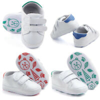 New Infant Toddler Baby Boy Girl Soft Sole Crib Shoes Sneaker Newborn Shoes
