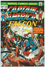 CAPTAIN AMERICA #167 Nov 1973 NM- 9.2 FALCON YELLOW CLAW App MARVEL Comics