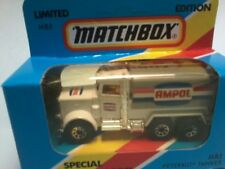 "MATCHBOX 1/75 MB5 PETERBILT TANKER "" AMPOL "" Limited Edition for Australia MBOX"