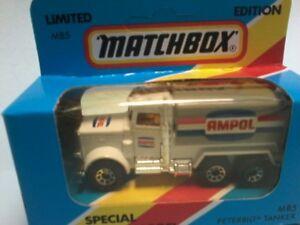 "MATCHBOX 1/75 MB5 PETERBILT TANKER "" AMPOL "" Limited Edition for Australia MTBOX"