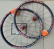 Fulcrum Racing Red Carbon XRP 26'' (Front & Rear) Wheelset & Wheel Bags