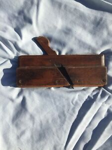 Hand Made Vintage Wooden Plane Stamped S. Fentiman