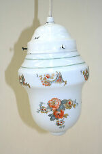 Vecchio Lampada da cucina,Lampada sospensione,Vetro lampada,Motivo rosa Fiori,30