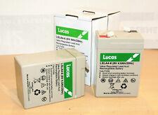 2 akkus for battery Box 6V 8Ah or 12V 4 Ah Lucas Batteriegehäuse BSA AJS Norton