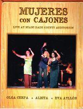 Mujeres con Cajones Olga Cerpa Albita  Eva Ayllon LIVE MDCA  BRAND NEW SEALED CD