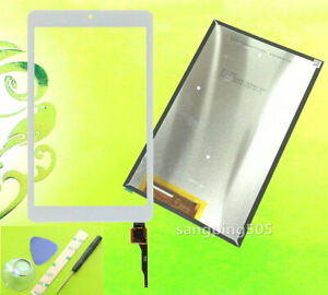 "Touch Screen Digitizer Glass LCD Display For Acer Iconia one 8"" B1-850 A6001"