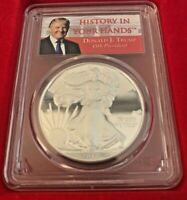 2017-W $1 PROOF Silver Eagle PCGS PR70 DCAM FIRST DAY OF ISSUE 1 of 2017