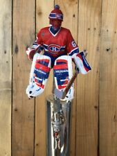 Montreal Canadiens Hockey Beer Tap Handle Jose Theodore Red Jersey Goalie
